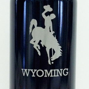 WY Graduation metal water bottle