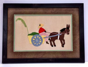 Marlene Loudan needlework  1(custom framing, gallery)